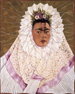 Selbstbildnis als Tehuana