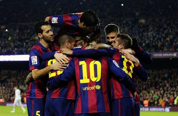 Barça 3-0 Bayern 2015