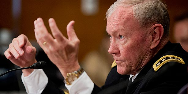 Joint Chiefs Chairman Martin Dempsey